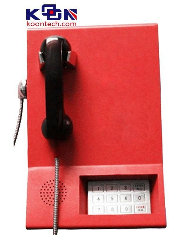 cold rolled steel hot line call telephone with different color