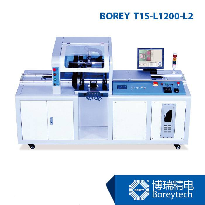 LED SMD Machine BOREY T15-L1200-L2 Pick and Place Machine