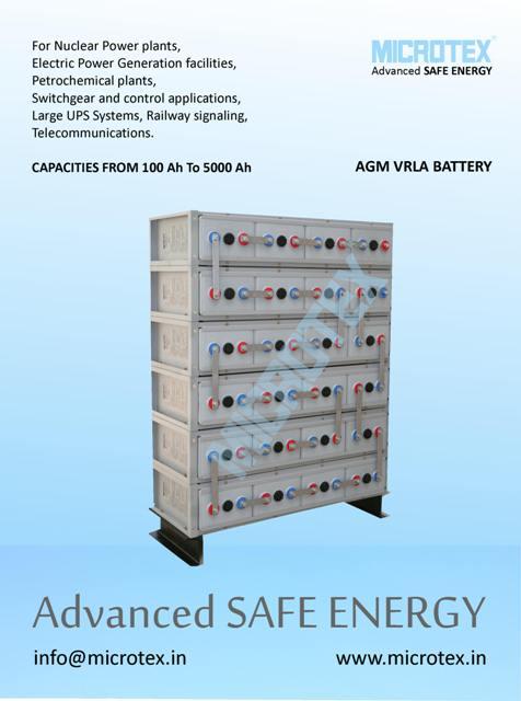 Microtex VRLA Telecom battery