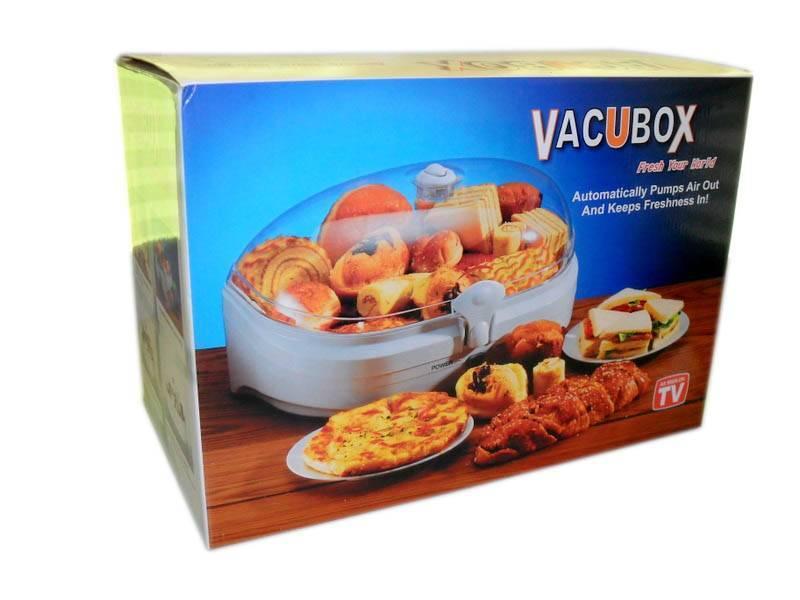Vacubox home appliance keep food fresh