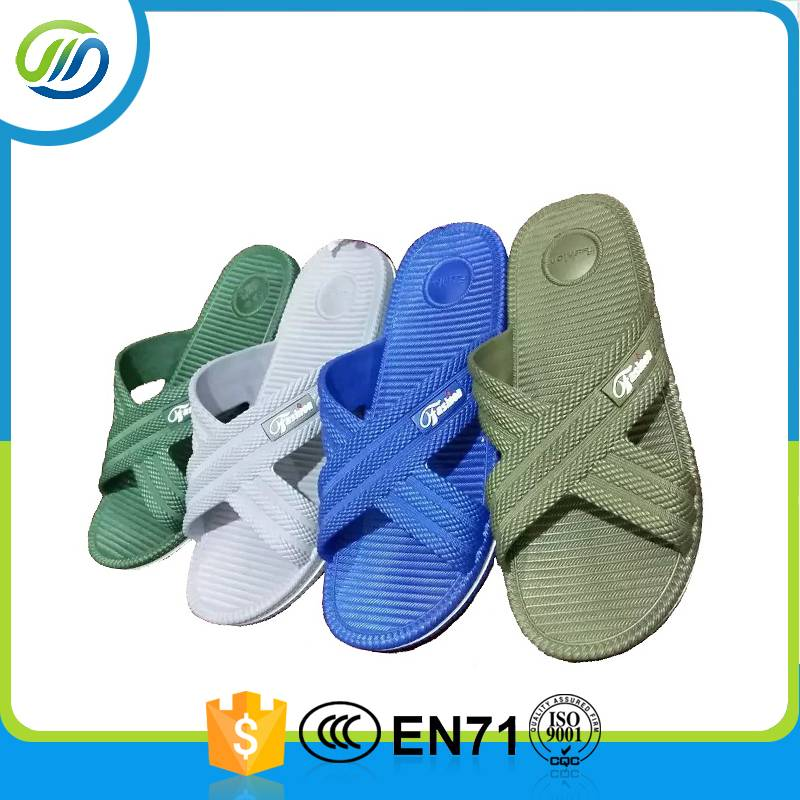 PVC air blowing colorful man slipper