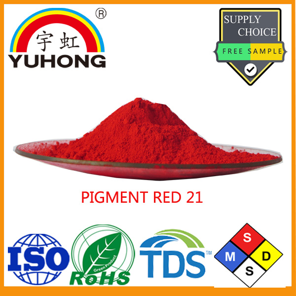 Pigment Red 21(Scarlet Power) Factory for Paint and Water Based Ink(Flexo Ink))
