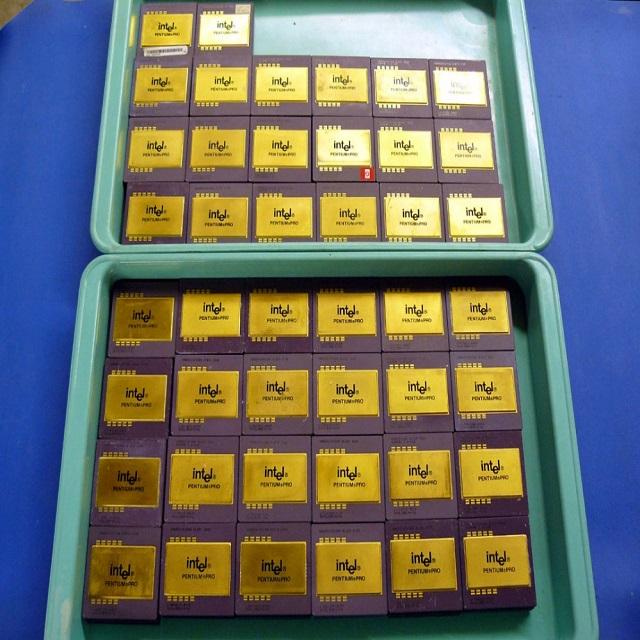 Gold Pin Scrap Ceramic Gold-Cap CPU for sale