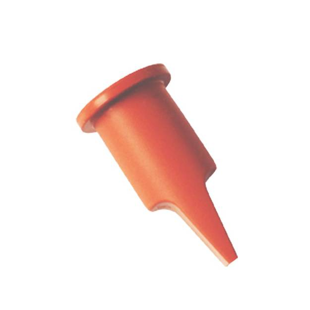 Mini rubber duckbill check valve