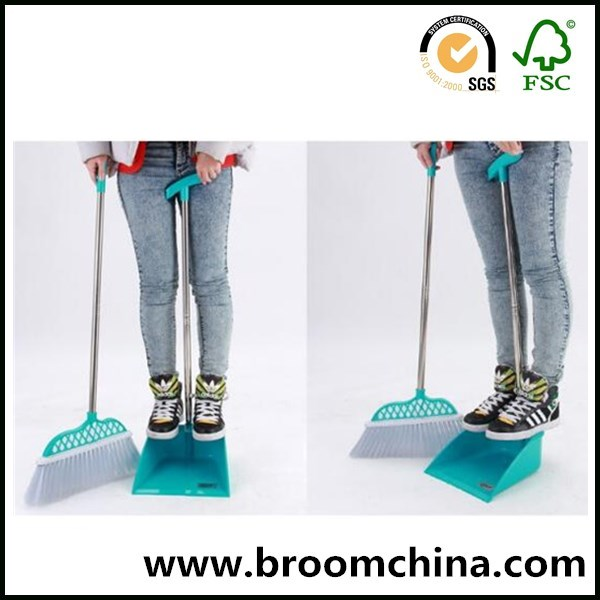 wholesale plastic hand broom with dustpan