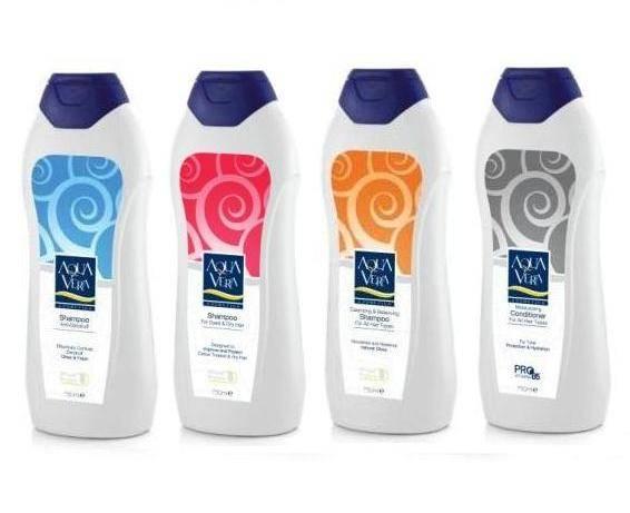 Aquavera Shampoos & Conditioners