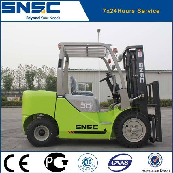 3 ton front lifting forklift truck