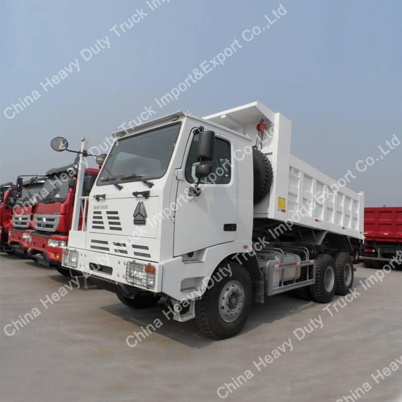 HOWO 6X4 30 Ton 371HP Mining Dump Truck