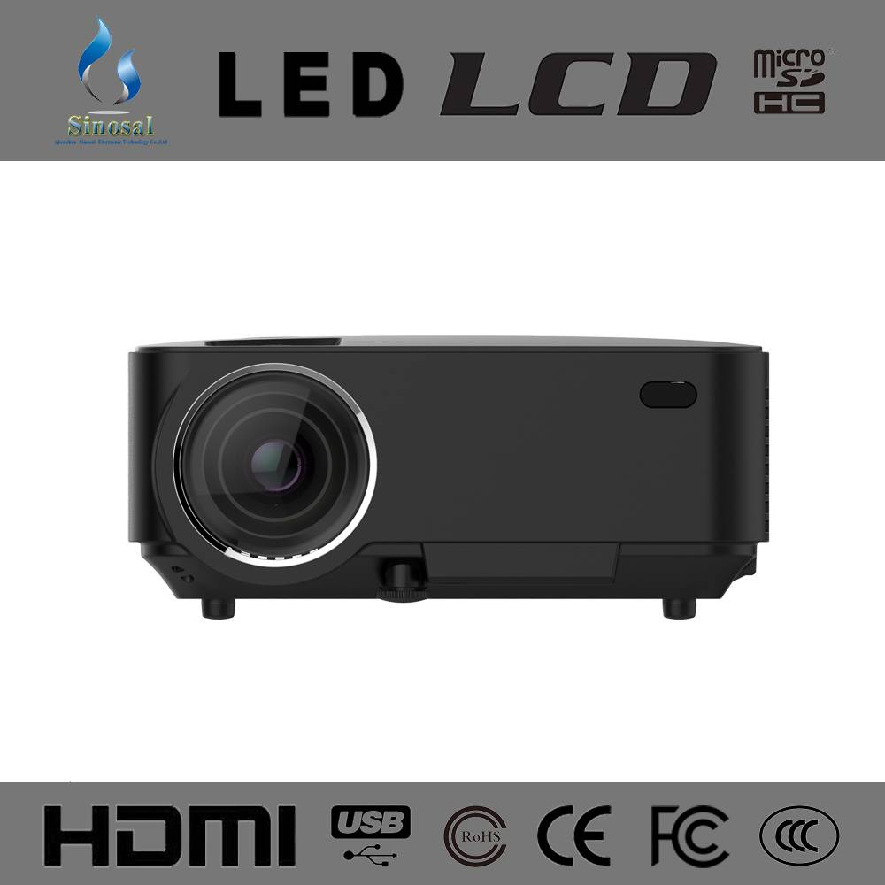 New Arrival SINO-20 Home Theater 1500 lumens HDMI Mini LCD led portable pico projector