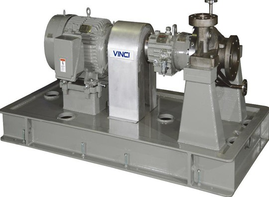 VOHB-H horizontal, single stage, single suction, radially split cantilever pump