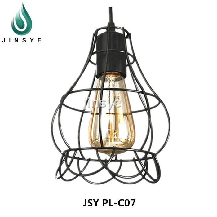 Rust color bronze lamp iron bedroom lights