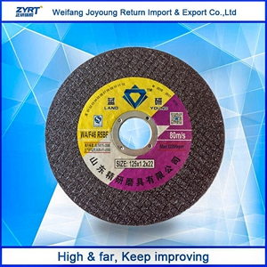 5 Inch 125mm T41 Thin Cutting Disc For Metal