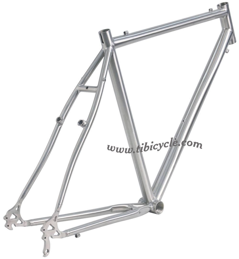 Touring Titanium Bike Frame HLCX001