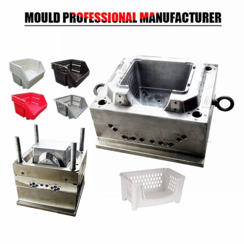 plastic mould storage basket mould