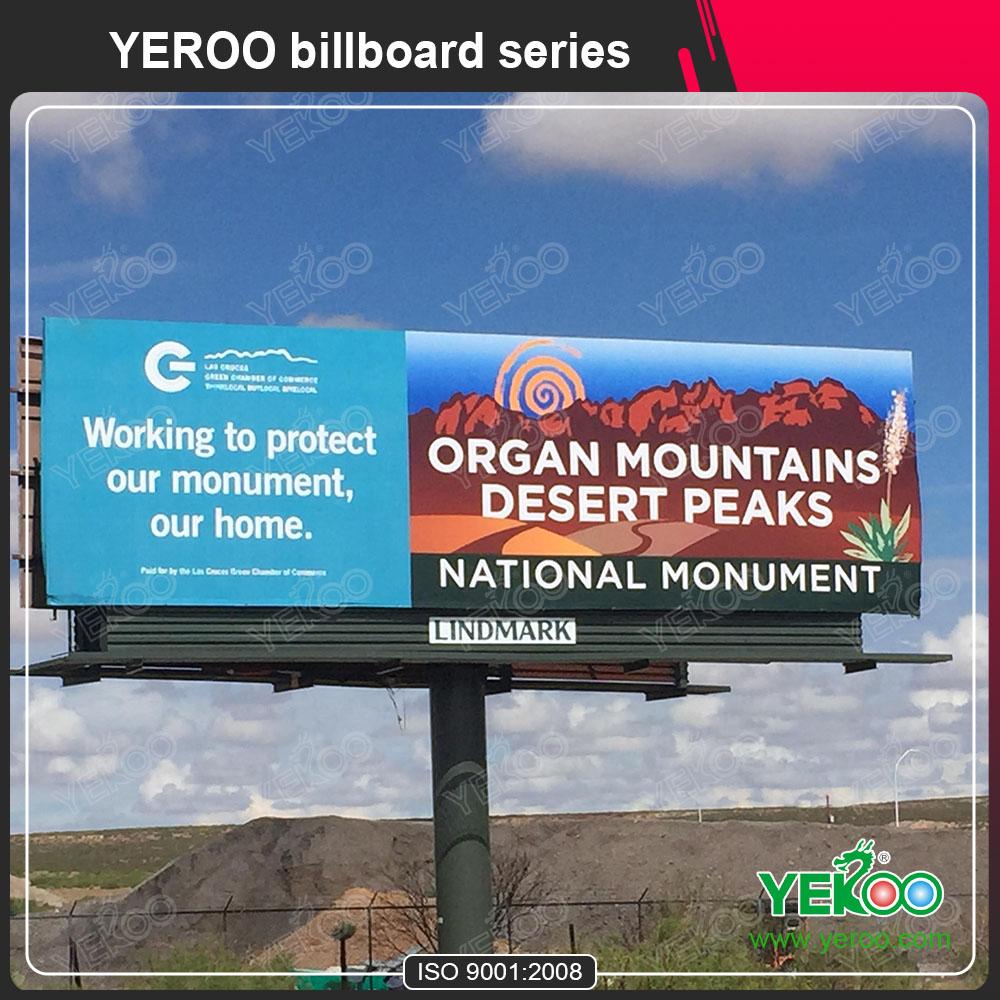 Aluminum Standing Big Advertising Billboard Outdoor