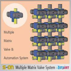 multiple matrix valve system