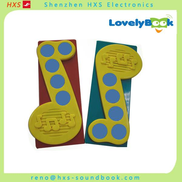 Wholesale Music Module/Children Push Button Sound Books