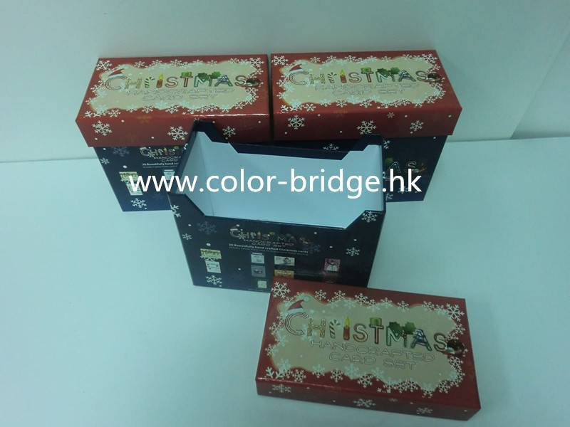 Customizing Luxurious Cardboard Paper Christmas Gift Box Jewelry Box