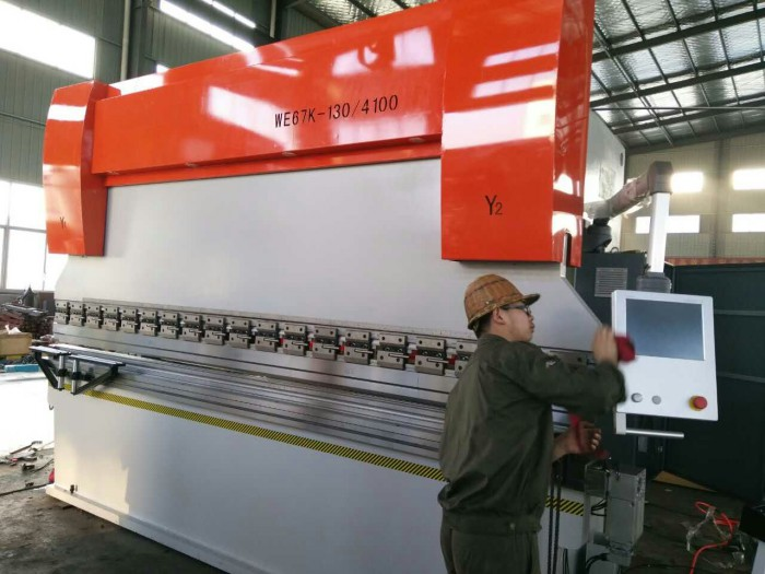 CNC electric-hydraulic press brake