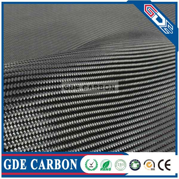 1K, 3K, 6K, 12K Carbon Fiber Fabric/Cloth