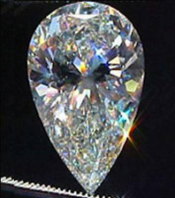 Fashion Gemstone Brillant Pear Cut 4 X 6 Cubic Zircon