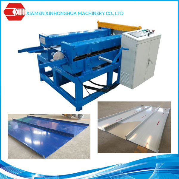 Cold Rolling Standing Seam Metal Roofing Machine for Colour Coated Zinc/Steel/Aluminum