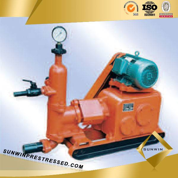 High Capacity Concrete Grouting Machine for Post Tension