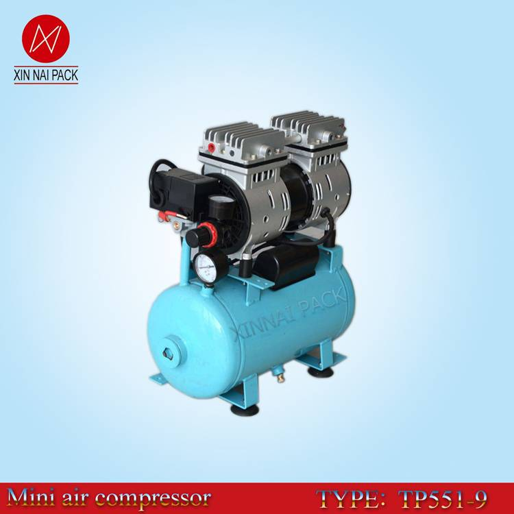 TP551/9 mini air brush compressor with silent type