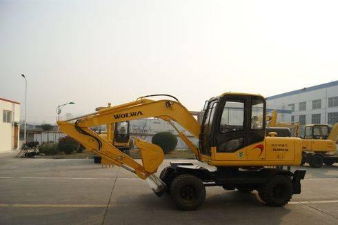 8 ton wheel excavator
