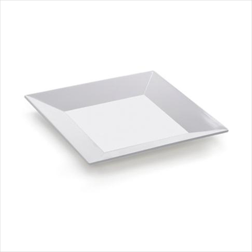 melamine square plate for hotel,house