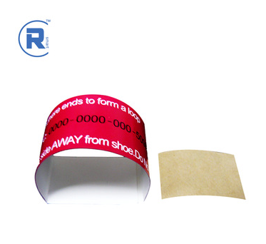 customerized Colorful Synthetic PP Paper Wristbands
