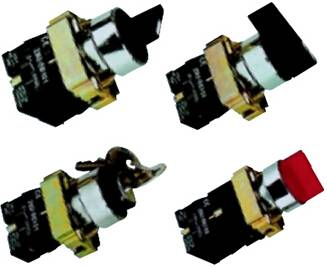 XB2/XB4 Selector Switches (2/3 position, standard/longer handle)