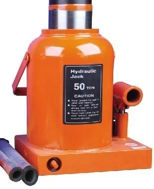 Hydraulic Bottle Jack-- with safety valve (WHBJ-50E)