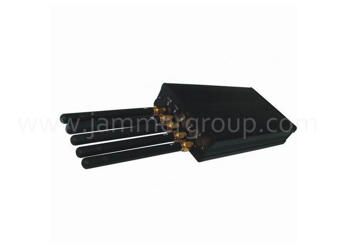 High Power Portable GPS L1/L2/L3/L4/L5 Jammer