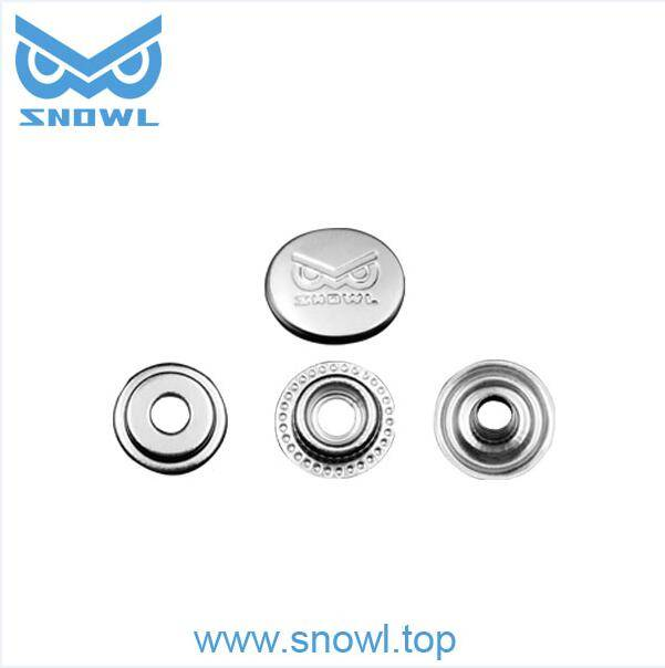 Stainless steel 316 15mm canvas cover snap button