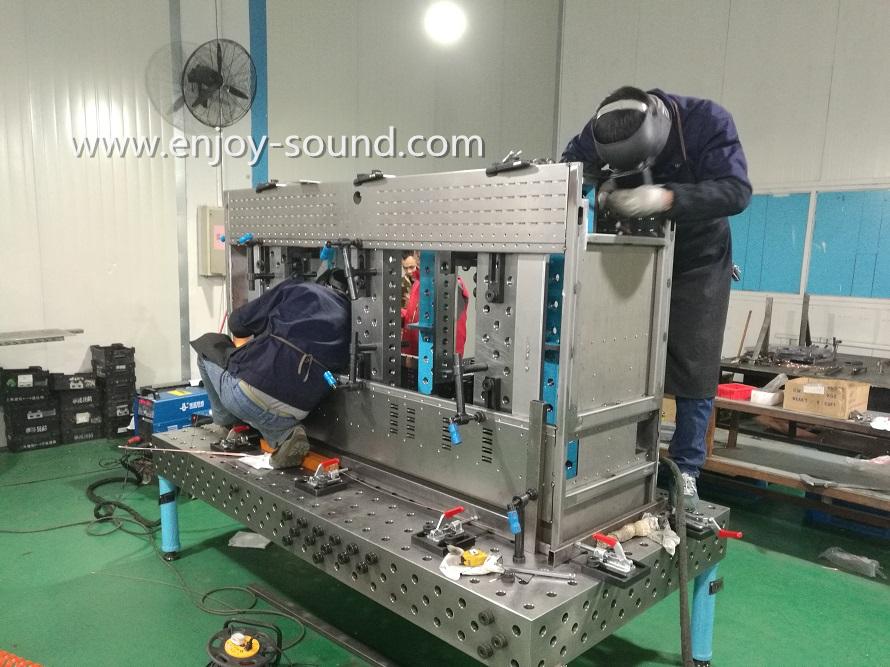 Fixture table, Modular welding table, jig table