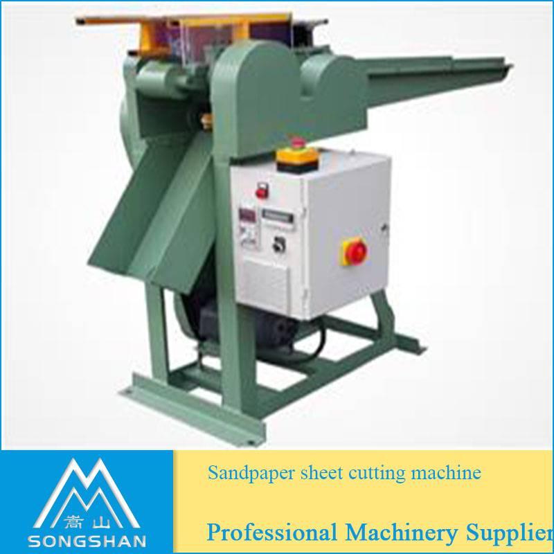 Abrasive cloth/paper sheet Cutting Machine