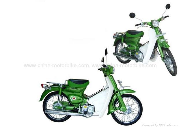 New super cub motorcycle