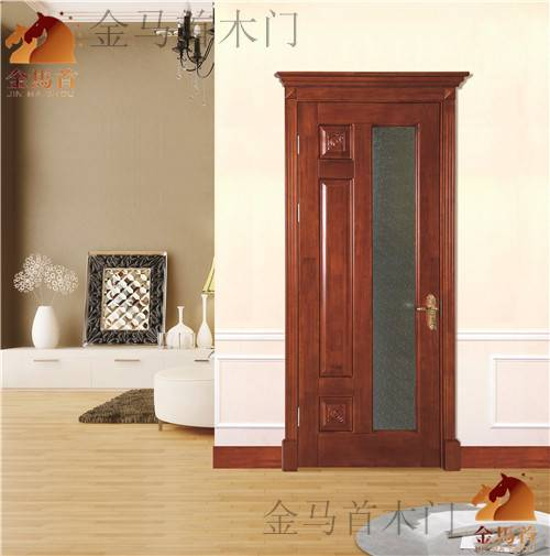 on big discount oak solid wooden door
