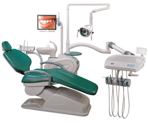 2013 hot selling dental unit with LCD motor