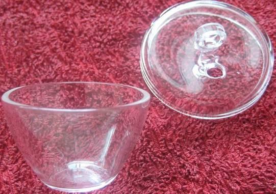 customized clear glass crucible quartz