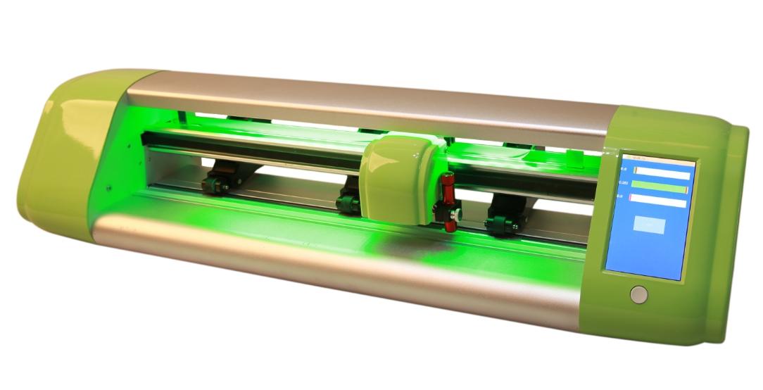 Skycut C24 desktop craft cutter CCD camera auto contour cut plotter
