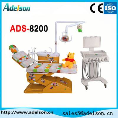 Kids dental chair,dental unit for children with good quality ADS-8200