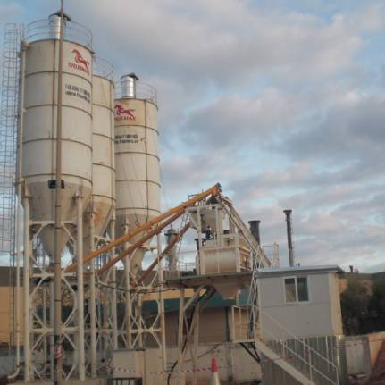 New Ready Mixed Concrete Batching Plant