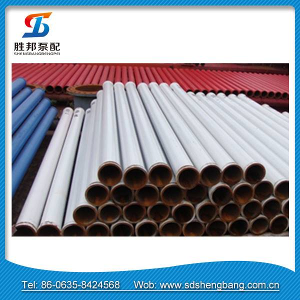Schwing concrete pump pipe parts with M/F flange