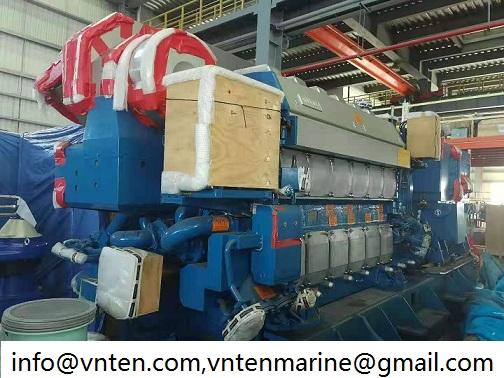 wartsila 6L26D2 generator set for sale