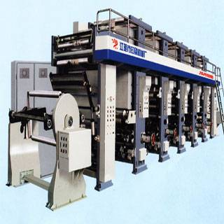 JYA-P51500B PC-controlled rolled-paper rotogravure printing press