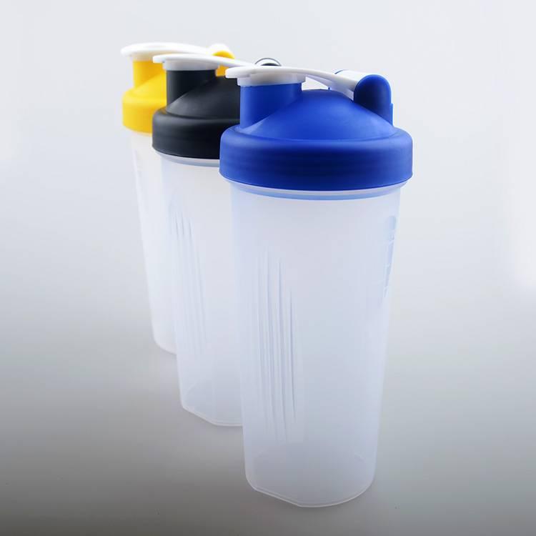 Plastic Protein shaker bottle BPA FREE
