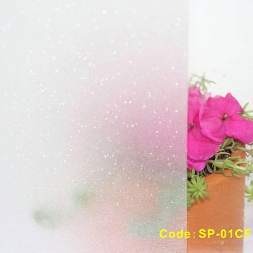 SP-01CF Sparkle twinkling window film