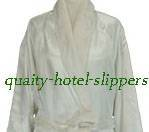 hotel shawl style bathrobe